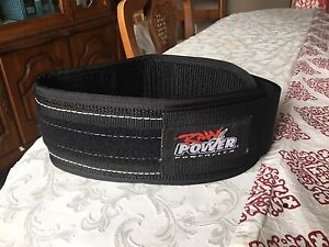 "Weight lifting belt - Powerflex 4"" width Small"