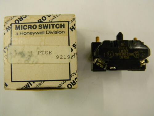 New Honeywell Micro Switch PTCE Contact Block  M2