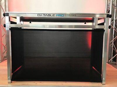 """Portabler DJ Tisch """"DJ Table Pro"""" aus Alu 120 x 60 cm Tischfläche"""