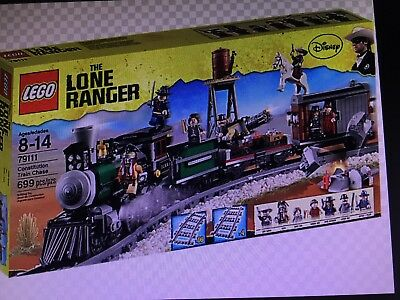 LEGO The Lone Ranger Constitution Train Chase (79111) Disney Christmas Gift Toy