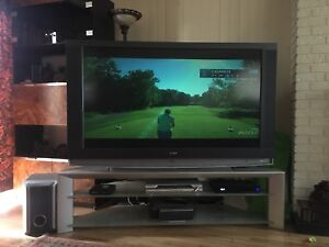 60 Inch Wega TV and stand
