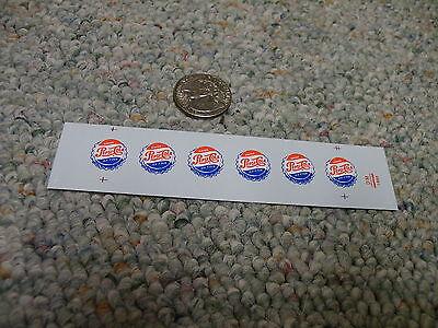 Herald King decals S Gauge Pepsi Cola  XX230