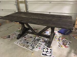Solid Wood Harvest Style Dining Tables