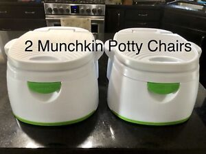 2 Munchkin Potty Chairs /  BOTH for $25