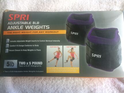SPRI ADJUSTABLE 5lb ANKLE WEIGHTS Coogee Eastern Suburbs Preview