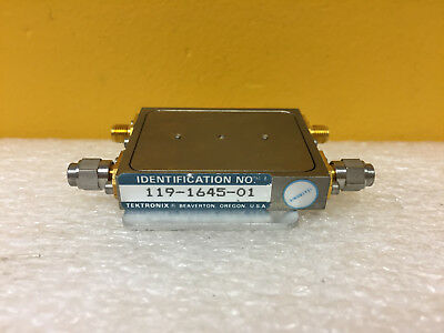 Tektronix 119-1645-01 Filter Module. For 492 494 Spectrum Analyzers. Tested
