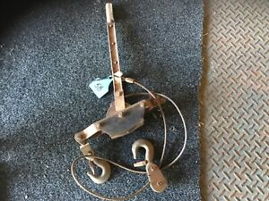 Lever ratchet wire rope hand winch [58] Wamuran Caboolture Area Preview