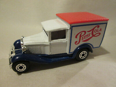 1979 Matchbox Superfast Model 'A' Ford Pepsi-Cola Delivery Truck MB38