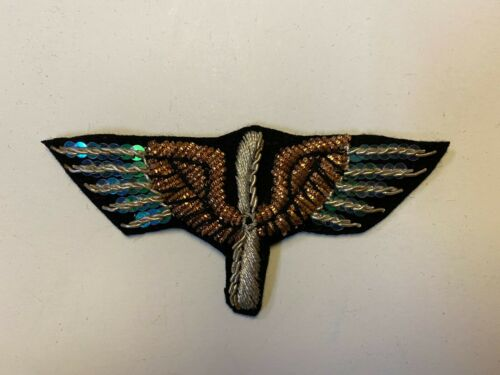pk803 WW1 Indochina French Army Officers Sleeve Wings For Pilots L2B