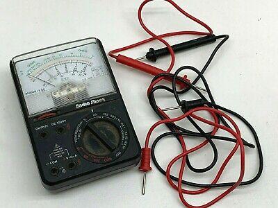 Vintage Radioshack 22-221 Multimeter 18-range Multitester