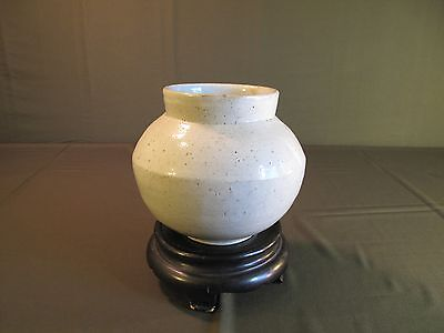 Very Fine Korean Joseon Dynasty Porcelain BaekJa Jar