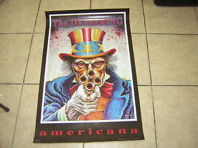 OFFSPRING LOT OF 2 POSTERS FREE SHIP  #6190    RC44 F MUSIC AMERICANA