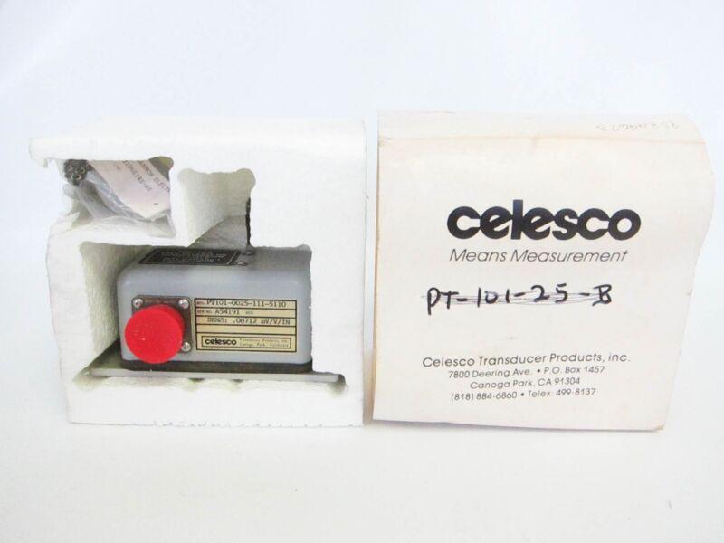 Celesco PT101-0025-11-5110 PT1010025115110 Position Transducer