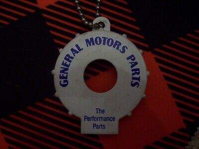 Vintage GM Parts Keychain Bottle Opener Very Unique very rare Chevy Olds Pontiac