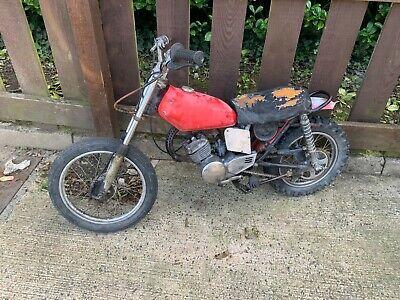 1974 Honda MR50 restoration project motocross barn find US import