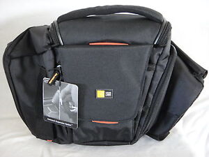 Case Logic SLRC-205 Sling Digital SLR Black Camera Bag SLRC205 New