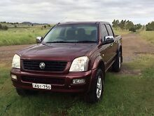 2004 V6 Auto Holden Rodeo dual cab Denman Muswellbrook Area Preview