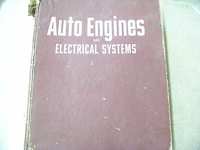 Auto Engines & Electrical Systems Blanchard & Ritchen 1970 5th Edition