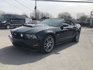 2012 Ford Mustang 2012 Ford Mustang - 2dr Conv GT  NAV 19999$