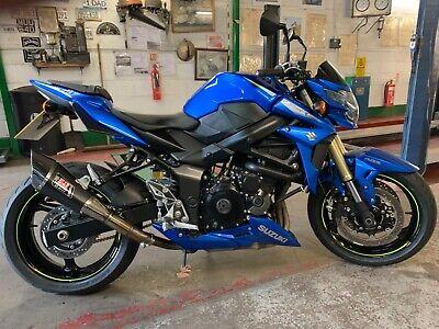 Suzuki GSR 750 MotoGP edition.