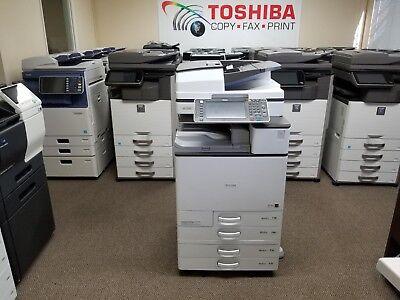 Ricoh Mp C4503 Color Copier Printer Scanner- Free Shipping