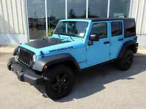 2017 Jeep Wrangler Unlimited Sport 4x4 - Only 700 km's