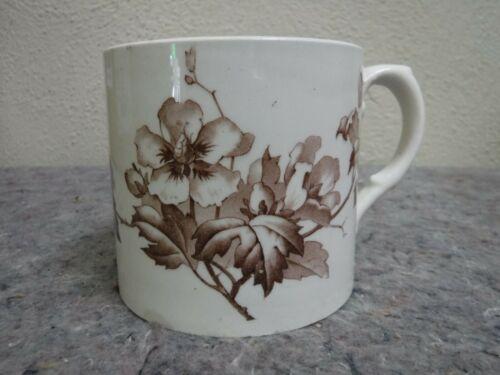 Antique Transferware Mug-B.W.M. & Co Althea Pattern