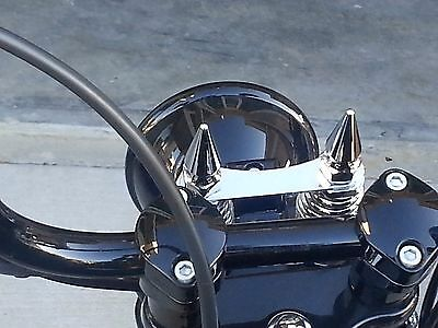 Photo HARLEY CROSSBONES CHROME SPRINGER SPIKES hd xbones cross bones softail pike