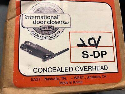 New International Door Closer 201 S-dp Overhead Concealed New In Box