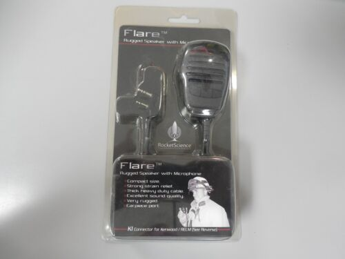 Klein  FLARE-K1 Rugged Speaker Microphone for Kenwood Radios