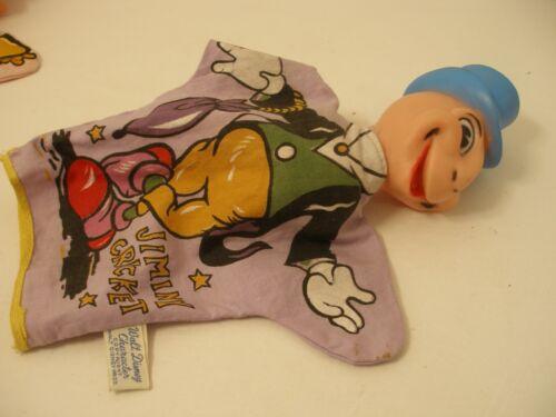 VTG Walt Disney Productions Jiminy Cricket Hand Puppet Gund WDP 60