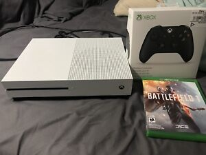 Xbox one S with 3 games and Like brand new xbox one s controller