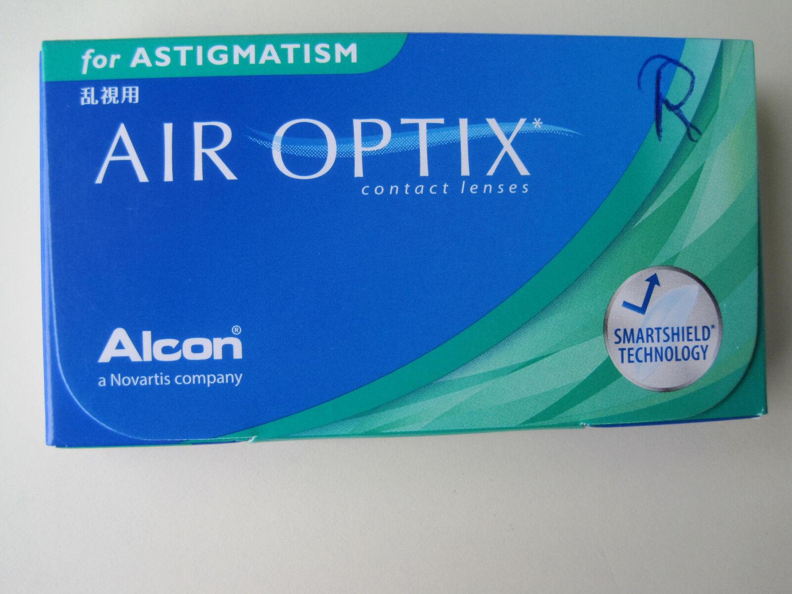 2 Packungen Kontaktlinsen AIR OPTIK for ASTIGMATISM Alcon -6.00