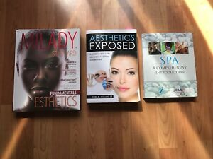 8 Esthetician/Spa Management Textbooks from Humber.