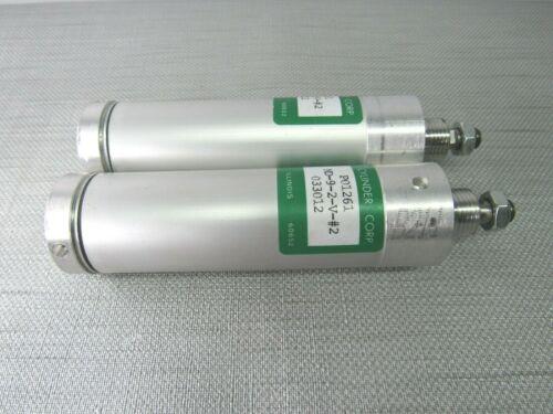 Chicago Cylinder P01261 Pneumatic Cylinder Lot of 2