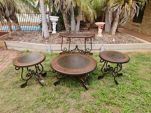 Coffee Table, Hall Table and 2 Side Tables