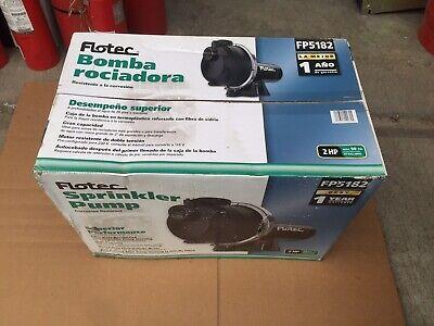 NEW - FLOTEC SPRINKLER PUMP FP5182 2 HP  50 PSI 69 GAL/MIN