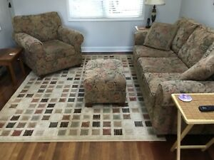 3 piece living room set. Clean, pet and smoke free.