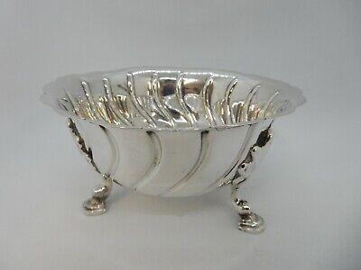 H.M.Silver cream jug 1894 Hilliard /& Thomason gilded interior