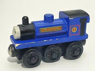 Thomas Wooden Railway Tank Engine Train Loose Dirty Logan