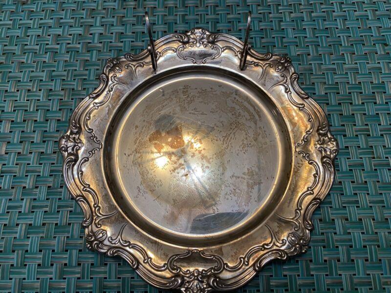 "Gorham Sterling Silver Chantilly Duchess Butter Plate Knife Rest L@@K"""