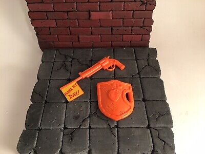 tmnt teenage mutant ninja turtles Loose Vintage Make My Day Leo Weapons Lot - Make Ninja Weapons