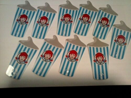 10 Wendys FROSTY KEY TAGS! NEW FOR 2020~FREE Frosty Jr With Purchase All Year~10
