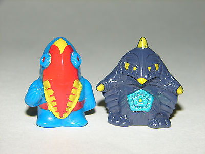 Sd Bemstar Vs Metron Seijin Mini Figures  Godzilla Gamera Ultraman