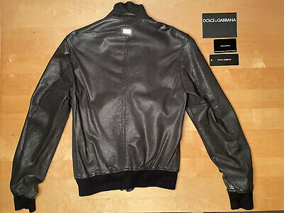 DOLCE&GABBANA 80% Sales Awesome washed lamb leather size 52 (fits like M)