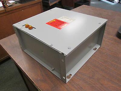 Aerovox Capacitor Amp1004f33l 4kvar 480v 3ph 60hz 3r Enclosure New Surplus