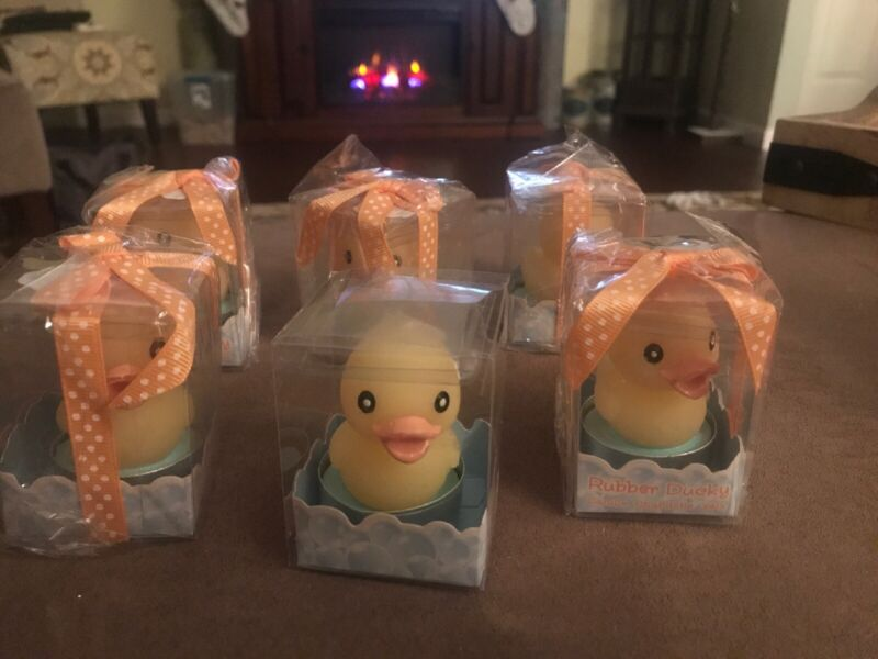 New Kate Aspen 6 Chicks DUCKS YELLOW CANDLES Unused Original Packaging FREE S/H