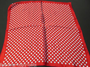 20+ NEW DESIGNS SILK SATIN FEEL LADIES SQUARE SCARF ANIMAL PINK SPOTS 20