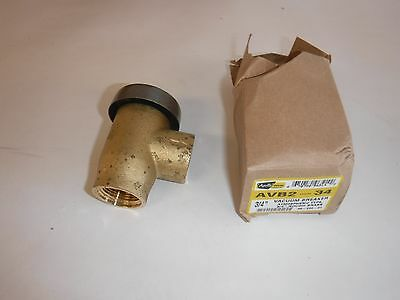 Apollo 3820401 Brass Atmospheric Type Vacuum Breaker 34 Npt Female T