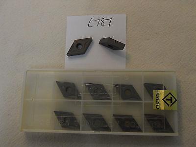 10 New Tungaloy Dnmg 431 Tn32 Carbide Inserts. Dnmg 150404-32 Grade T803 C787